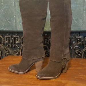 Matisse Tall Suede Boots 7 1/2